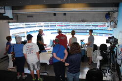 Rogers Centre broadcast booth