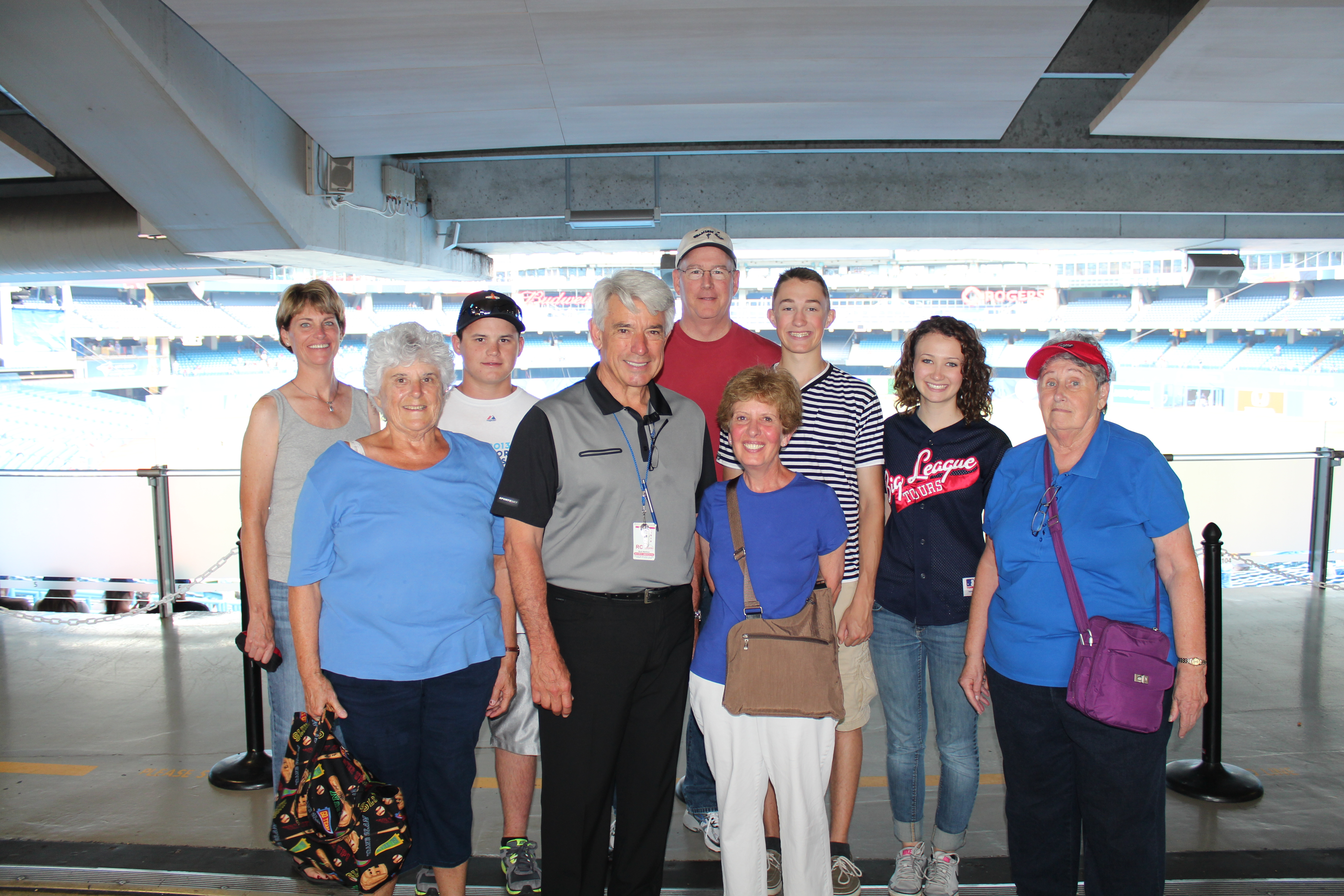 2014 group w Buck at Rogers Centre