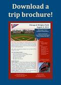 trip brochure, 2013 baseball tours