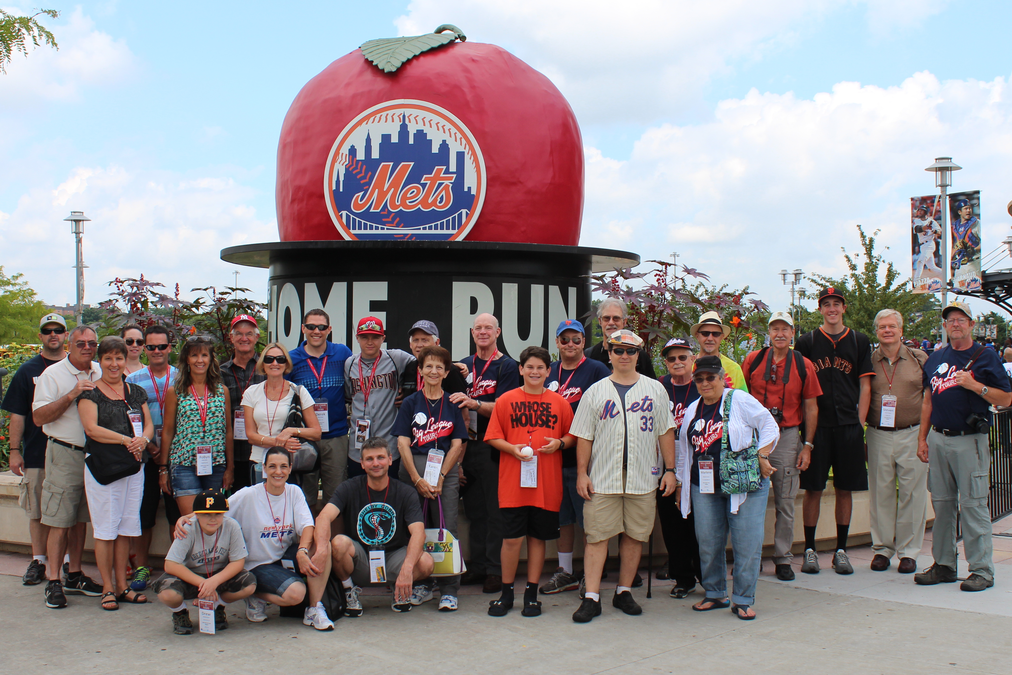 Group tour at Citi Field in New York City
