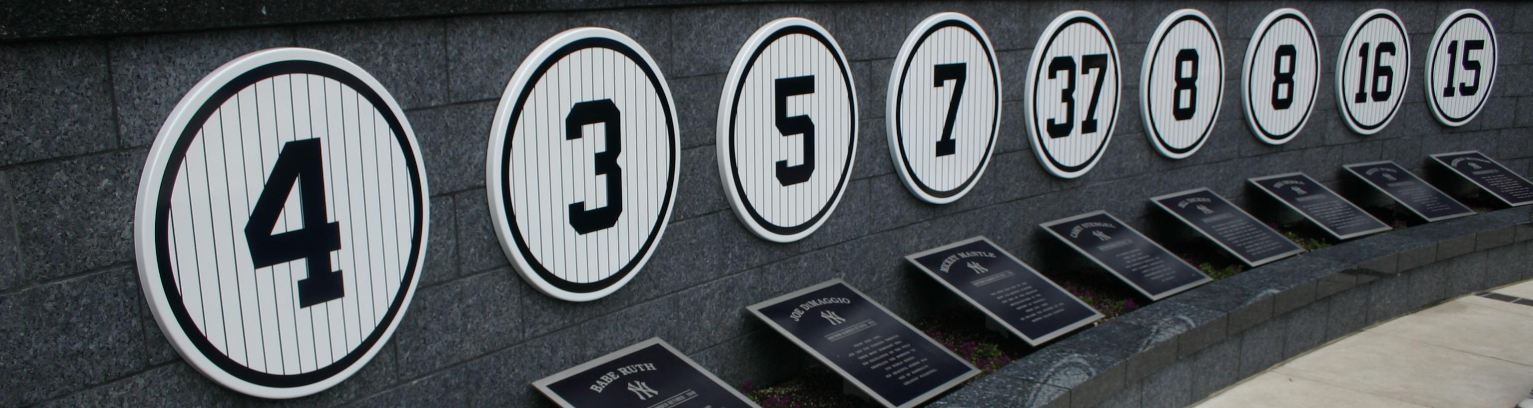 Yankee Stadium,Monument Park,East Coast Baseball Tour,Baseball Road Trip