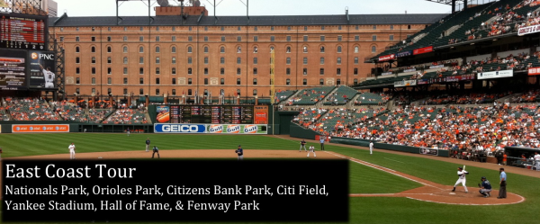 View from our seats at Oriole Park