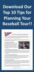 Baseball Tour Planning Banner