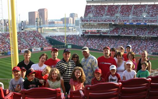 Great American Ball Park, Cincinnati, Reds, Baseball Tours, Family Tours