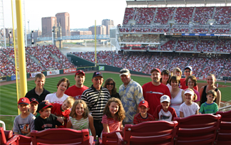 Great American Ball Park, Cincinnati, Reds, Baseball Tours, Family Tours