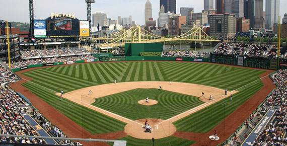 PNC Park from the club level
