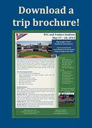 trip brochure, 2013 baseball tours