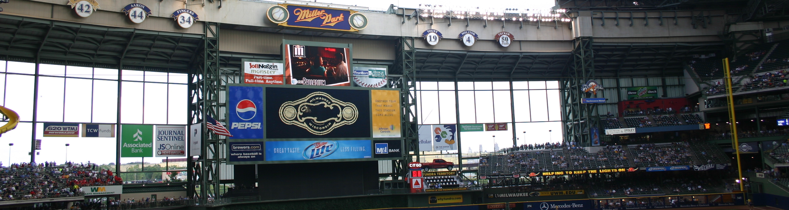 miller park,milwaukee travel,midwest tours,baseball trips