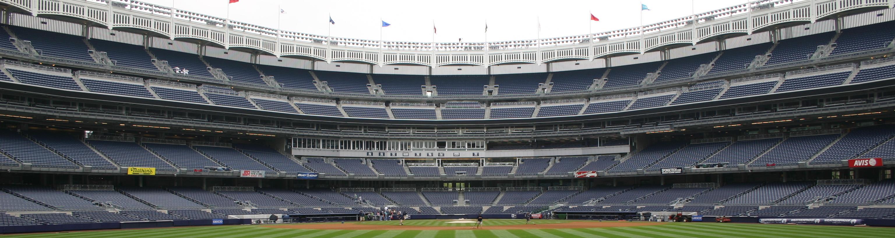 Yankee Stadium,New York tours,east coast baseball tours,baseball vacation package