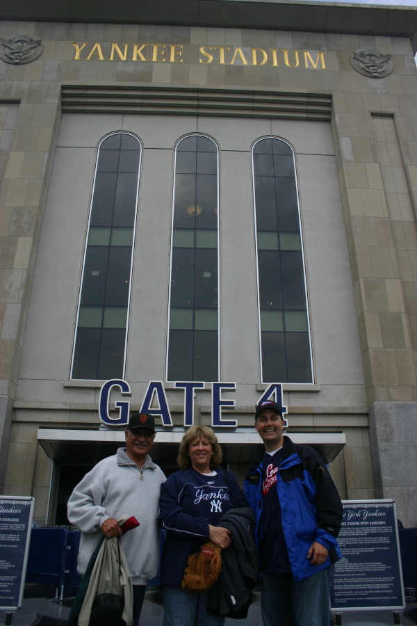 Yankee Stadium just before a game