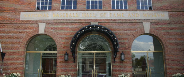 National Baseball Hall of Fame entrance