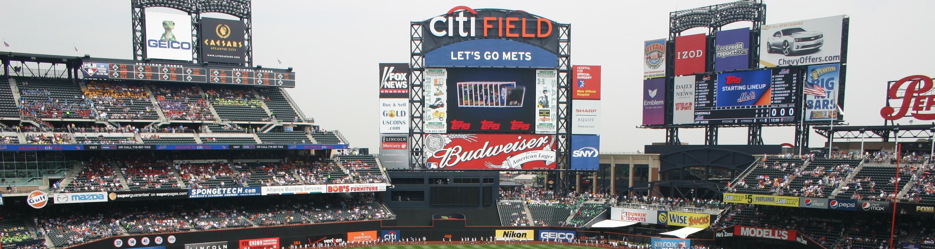 Citi Field,new york trips,baseball stadium tours,baseballtrips