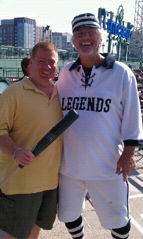 "Big League Tours guest with Bill ""Spaceman"" Lee"