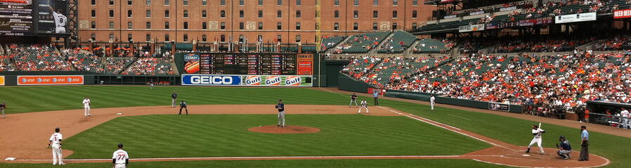 Camden Yard, Oriole Park,East Coast Baseball Tour,Baseball Road Trip