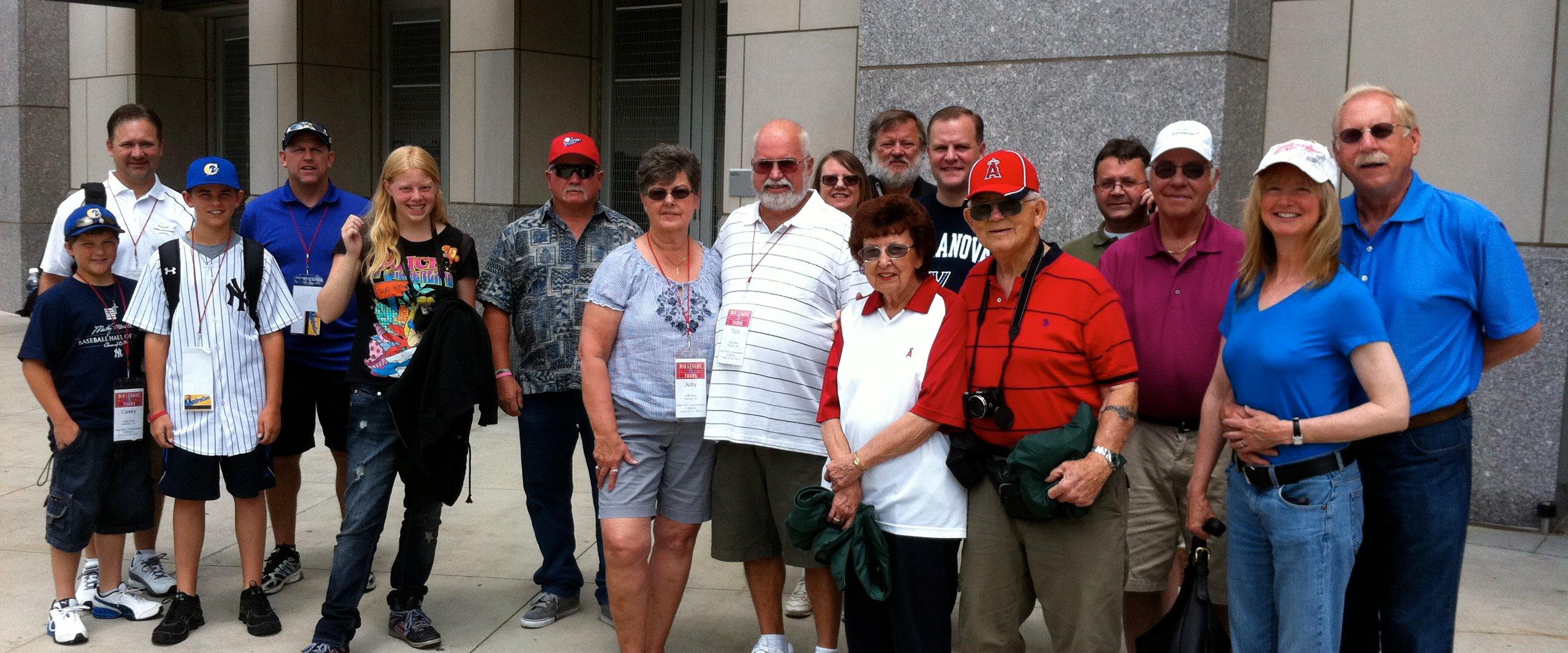 Private group tour of Yankee Stadium