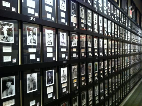 Hall of Fame wall