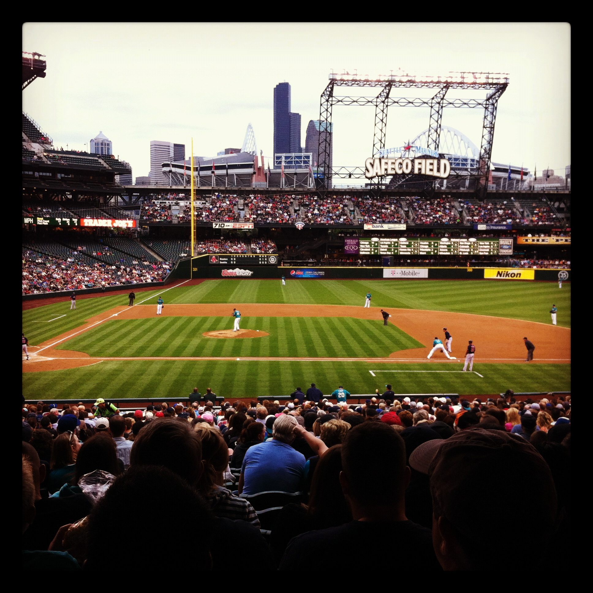 Safeco Field from seats