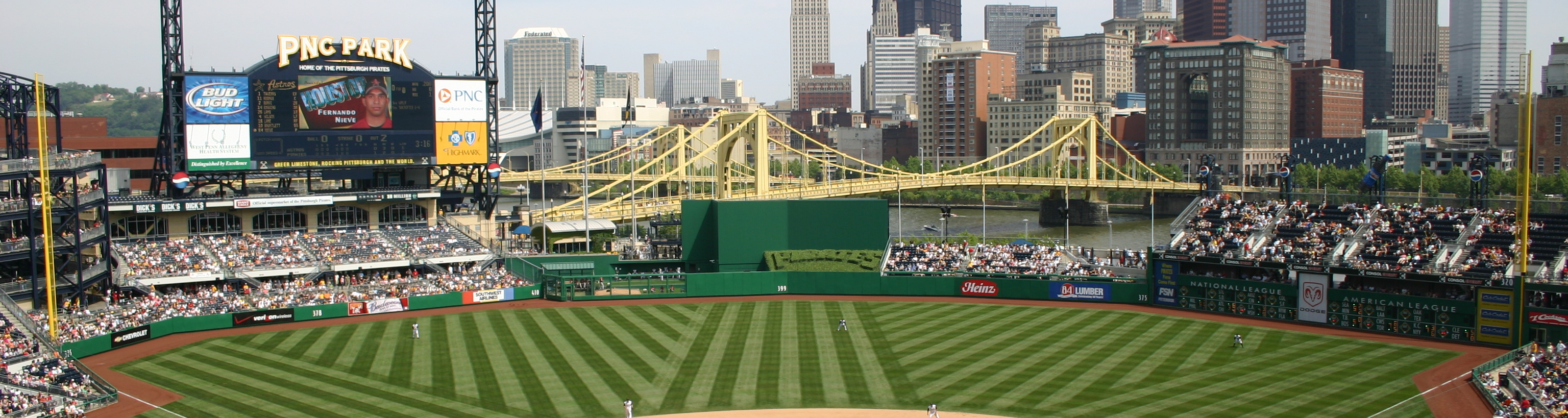 PNC Park,midwest baseball trips,group baseball tours