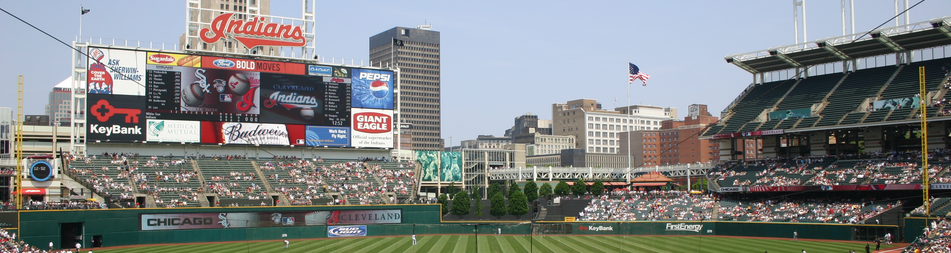 Progressive Field,baseball trips, baseball tours,sports travel and tours