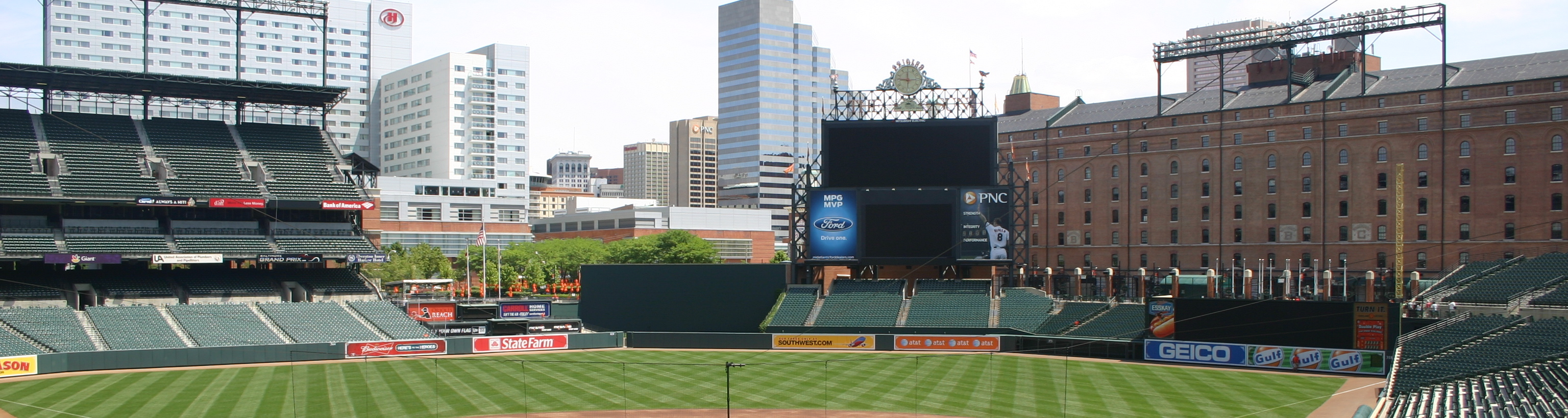 Oriole Park,Camden Yards,east coast baseball tours,baseball trips