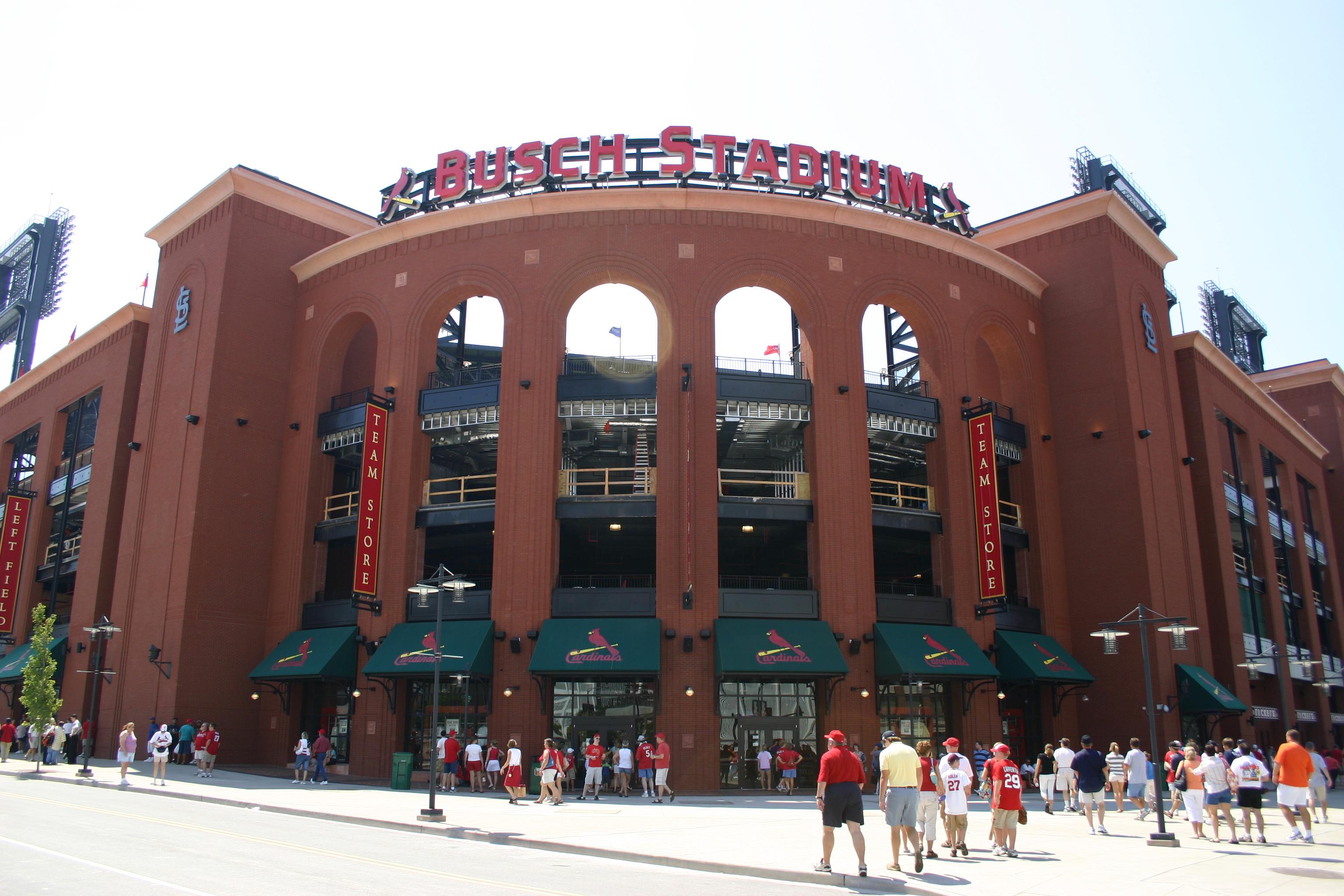 Busch Stadium, Home of the St. Louis Cardinals