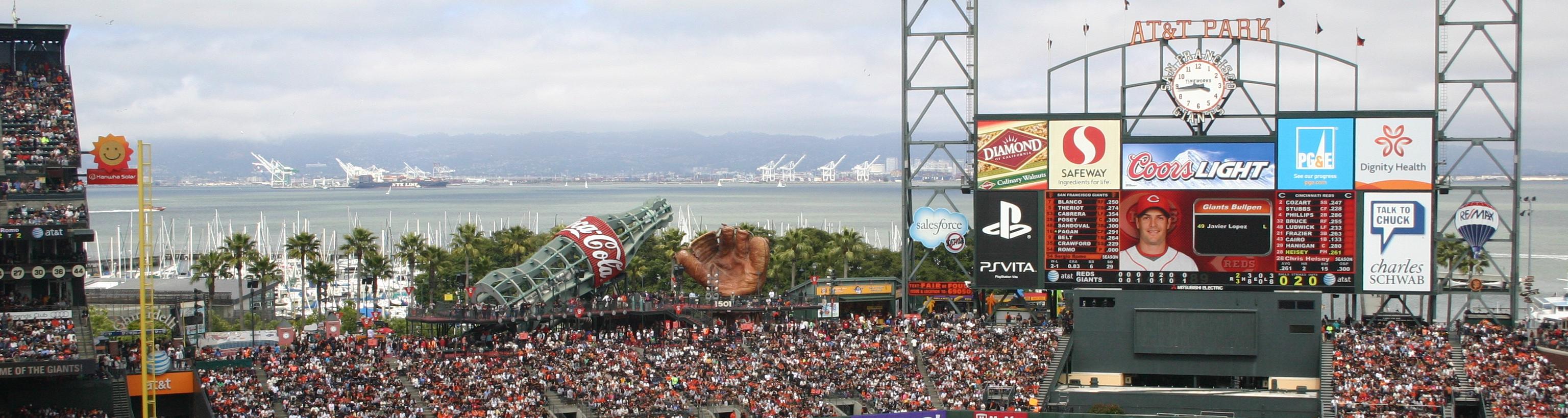 """AT&T Park"",baseball stadium trips,baseball tours"