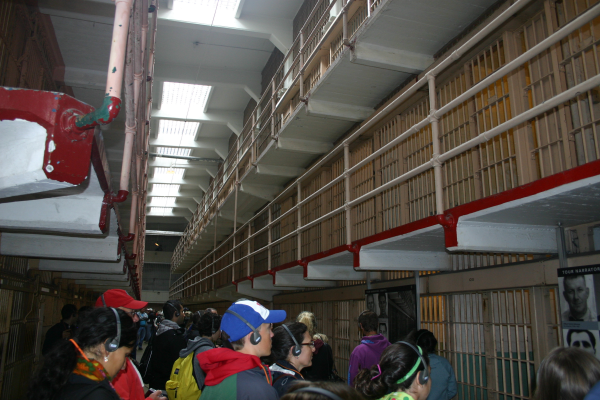 Alcatraz - main corridor