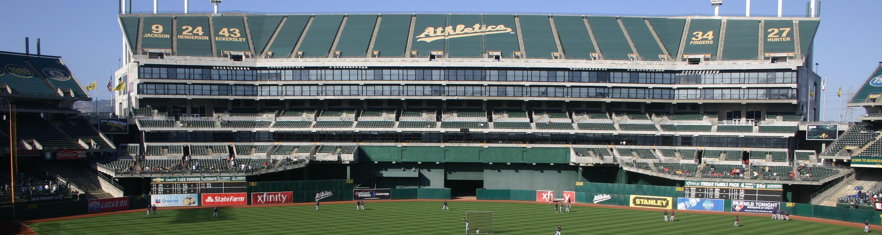 Oakland Coliseum,baseball trips,baseball tours,west coast baseball tours