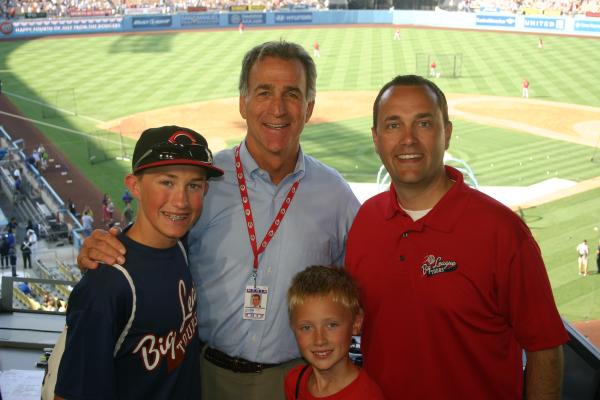 Chris Welsh at Dodger Stadium