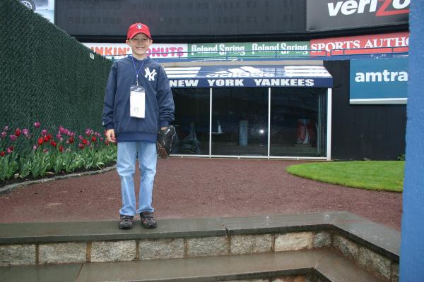 In the Yankees bullpen