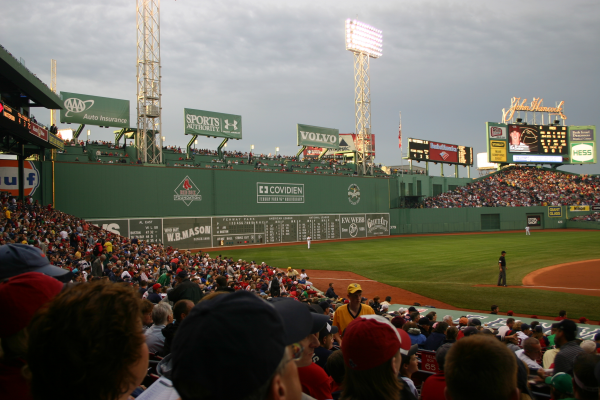 Green Monster at Fenway Park