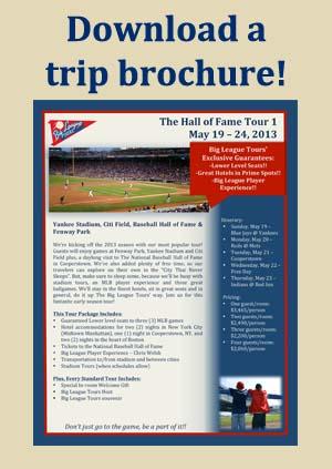 Trip brochure