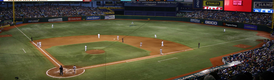 Tropicana Field, The Trop,Rays,Tampa Bay