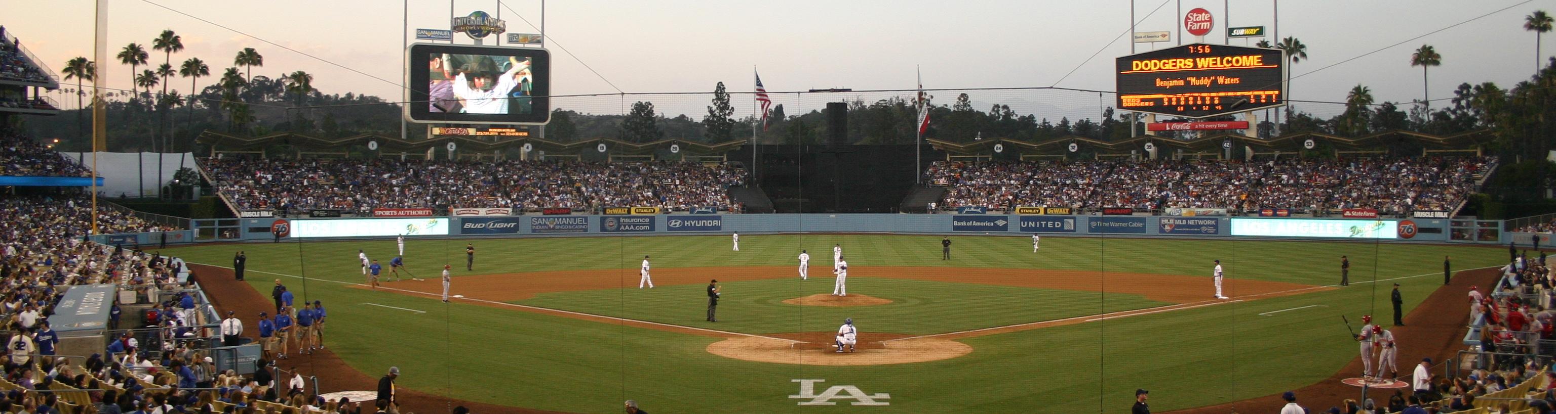 Dodger Stadium,West Coast Baseball Tour,Baseball Road Trip