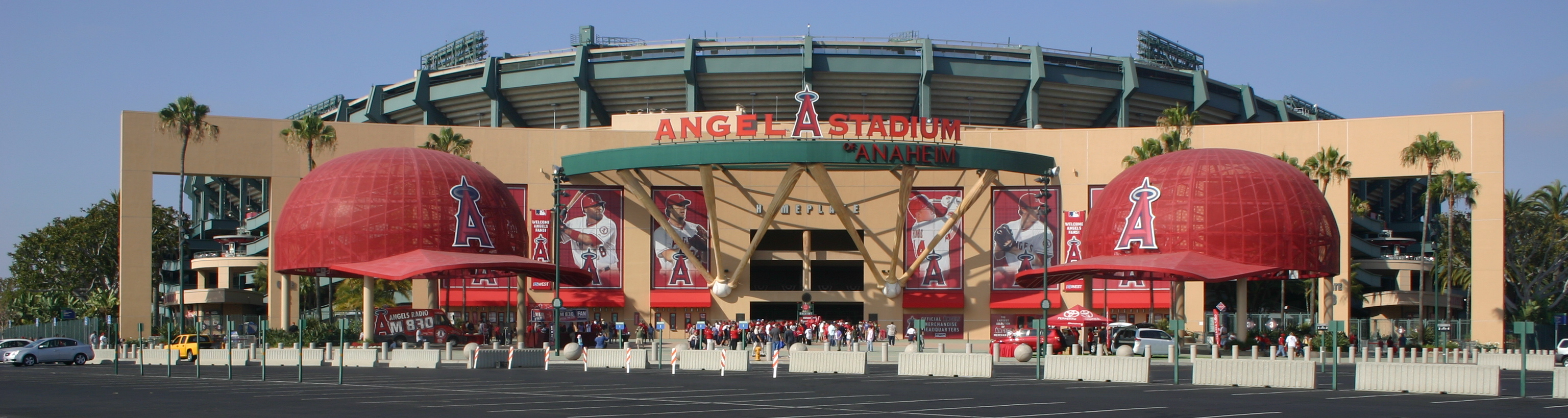 Angel Stadium,West Coast Baseball Tour,Baseball Road Trip