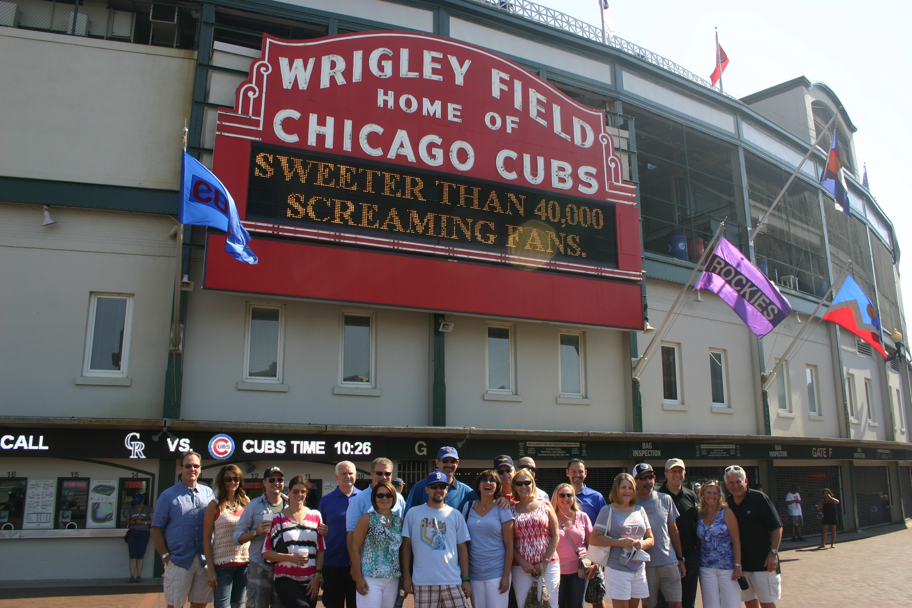 Wrigley Field,Midwest Tour,Chicago Tours,Cubs