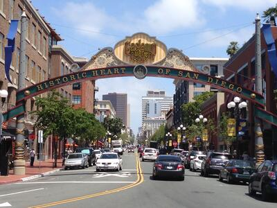 Southern Cal tour,Gaslamp Quarter,San Diego tours,baseball trips