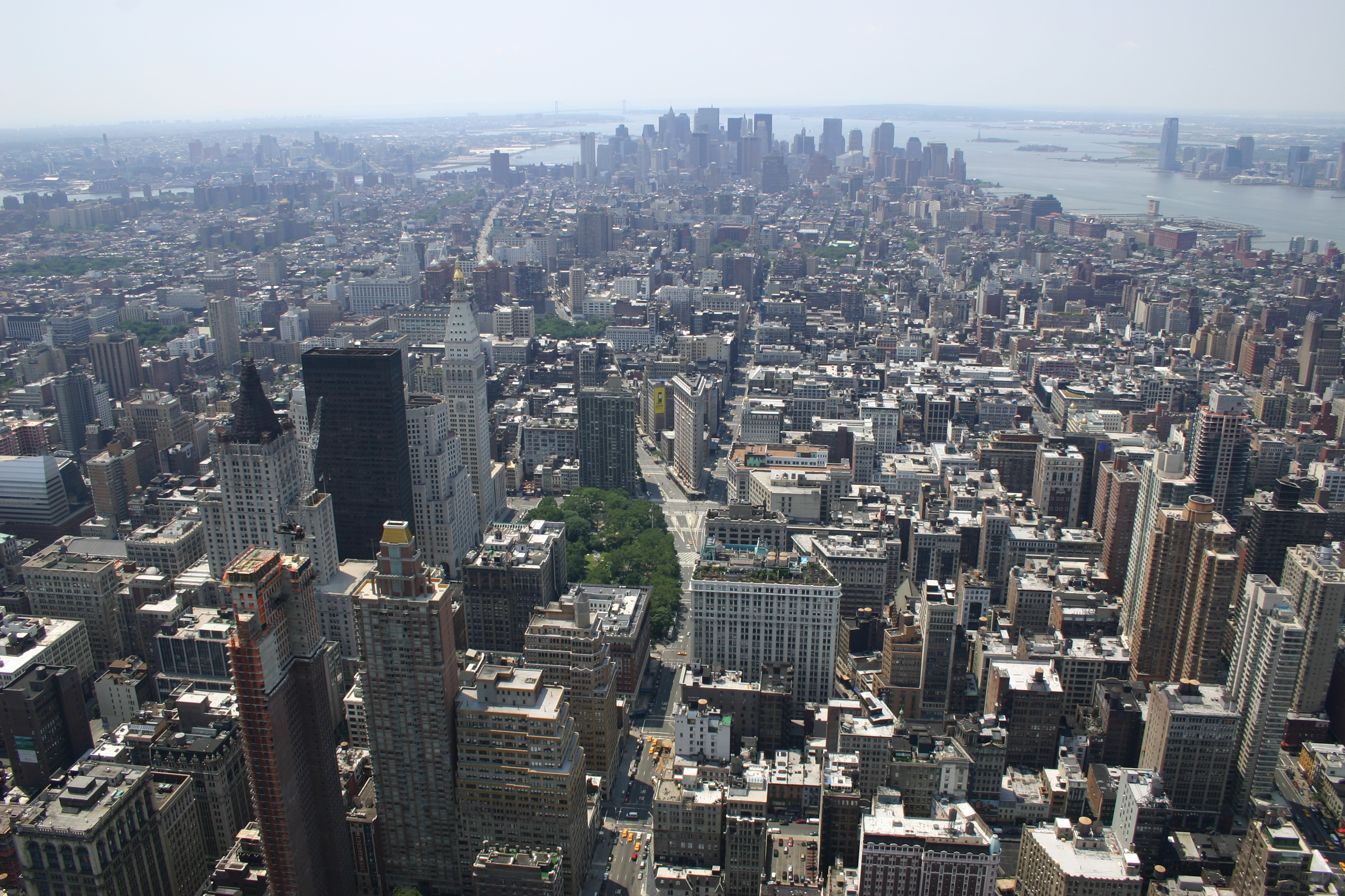 View of NYC from the Empire State Building