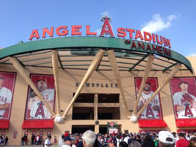 West Coast tour,Angel Stadium,california tours,baseball trips