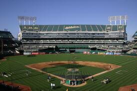 Oakland Coliseum,baseball stadium tours,baseball vacation packages