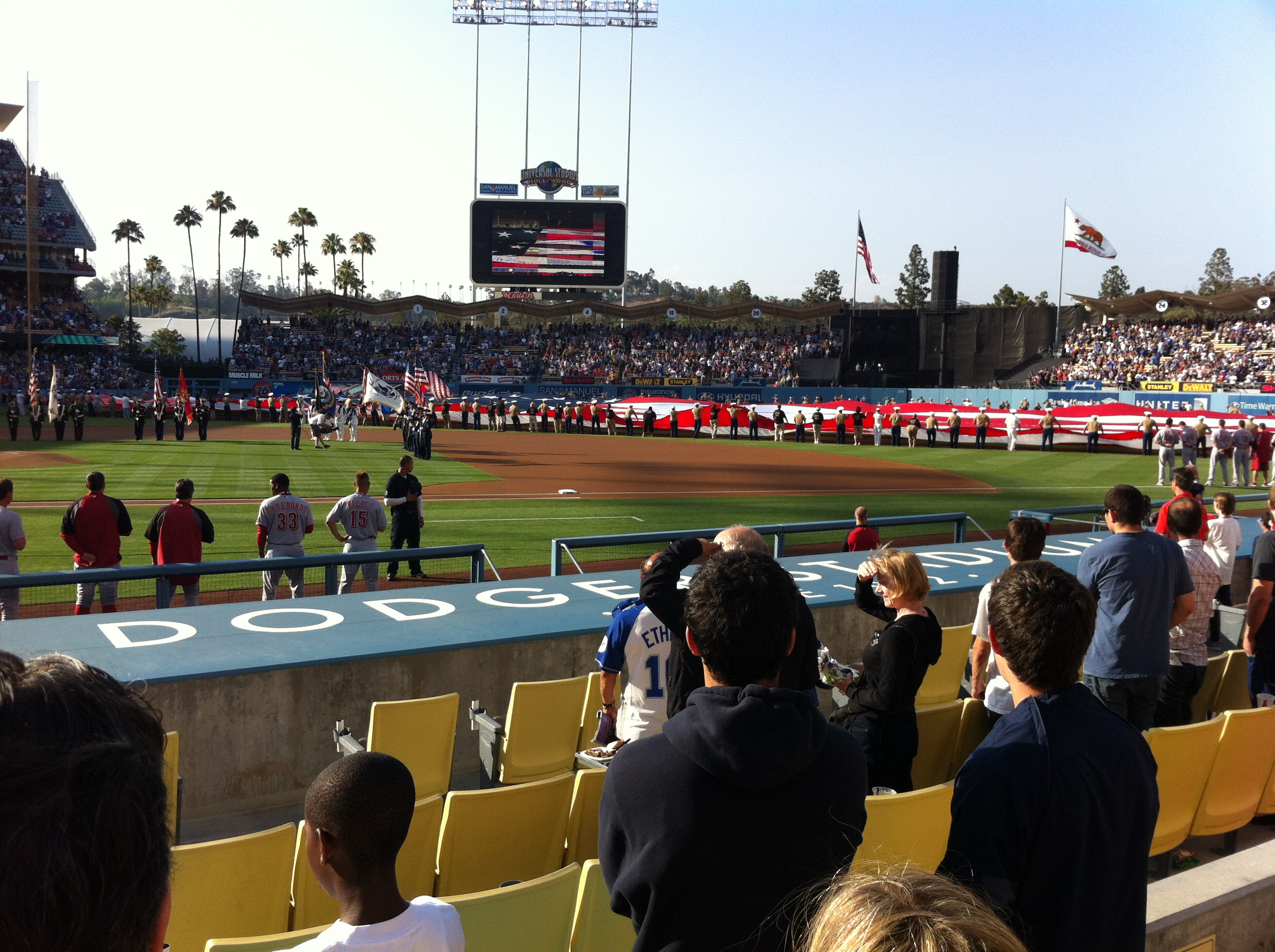 Dodger Stadium,west coast baseball tours,baseball tours