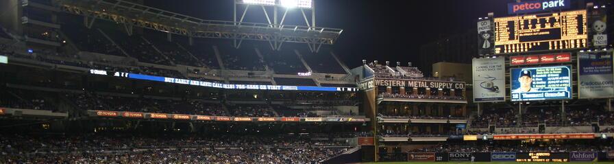 Petco Park,Western Metal Supply Building,San Diego travel,west coast baseball tours,baseball trips