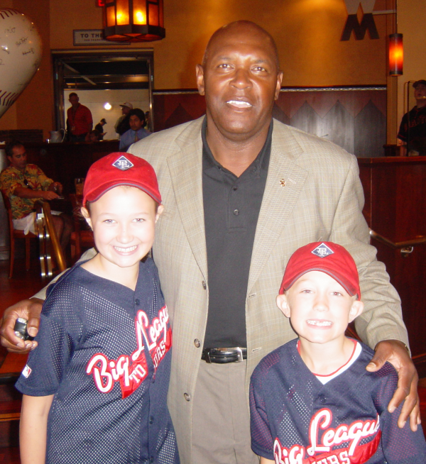 Vida Blue at Big League Player Experience