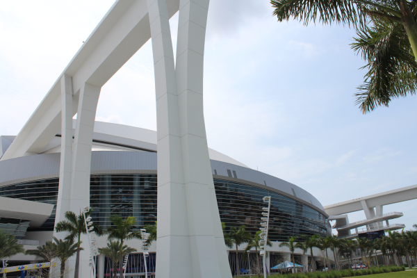 Marlins Ballpark exterior