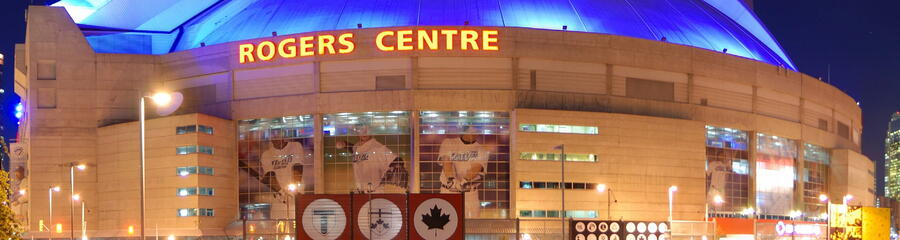 Rogers Centre, Home of Blue Jays, Toronto