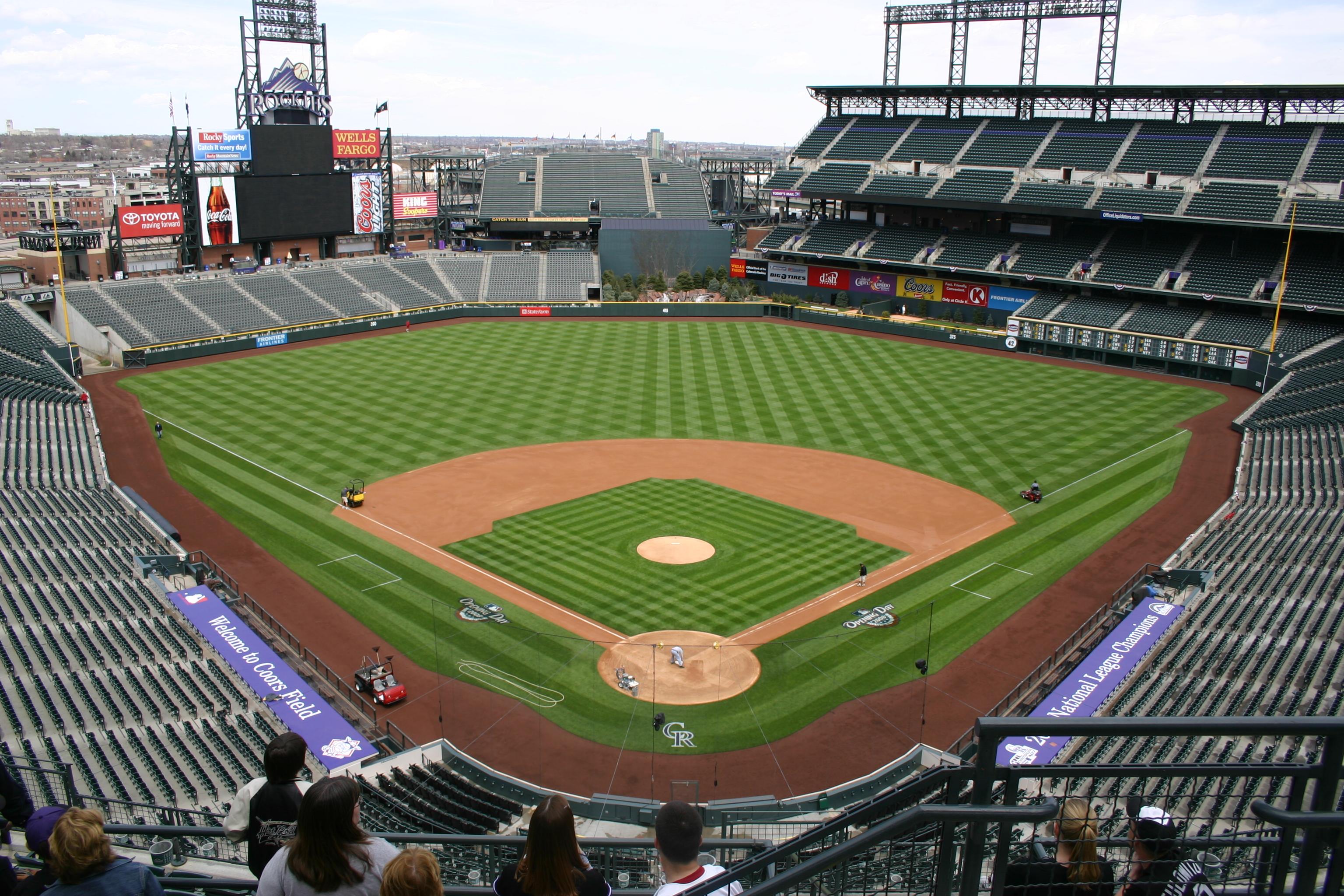 Coors Field,Rockies,baseball trips,ballpark tours,baseball stadiums