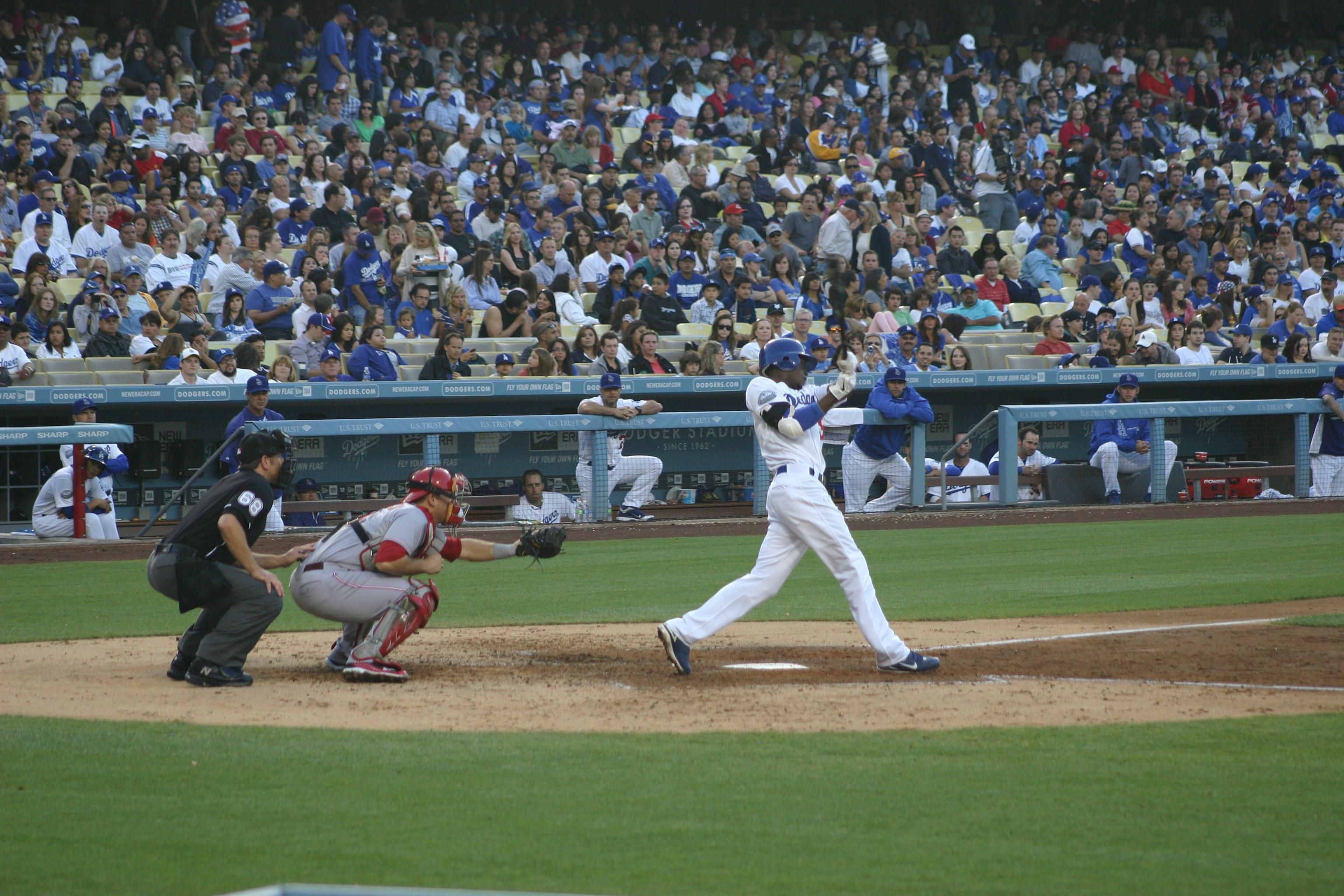 Dodger Stadium,West Coast baseball tour,baseball trips,great seats