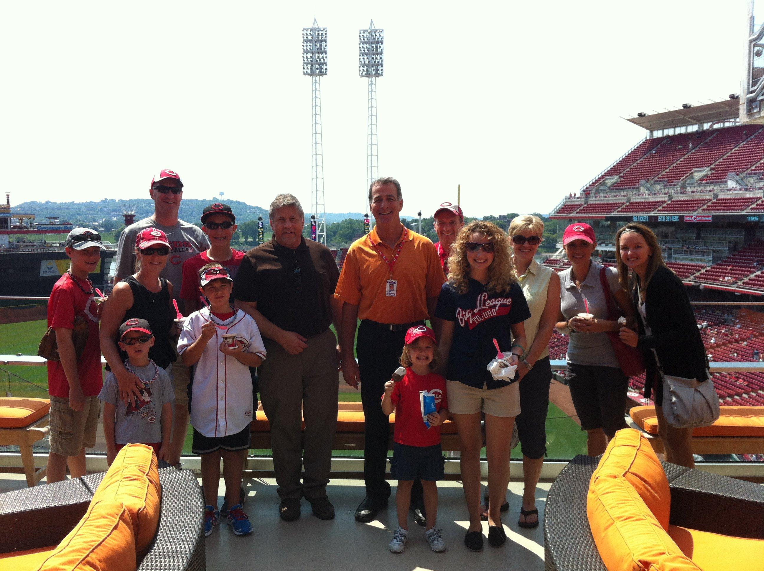 baseball road trip,baseball tour,great american ballpark,cincinnati,reds