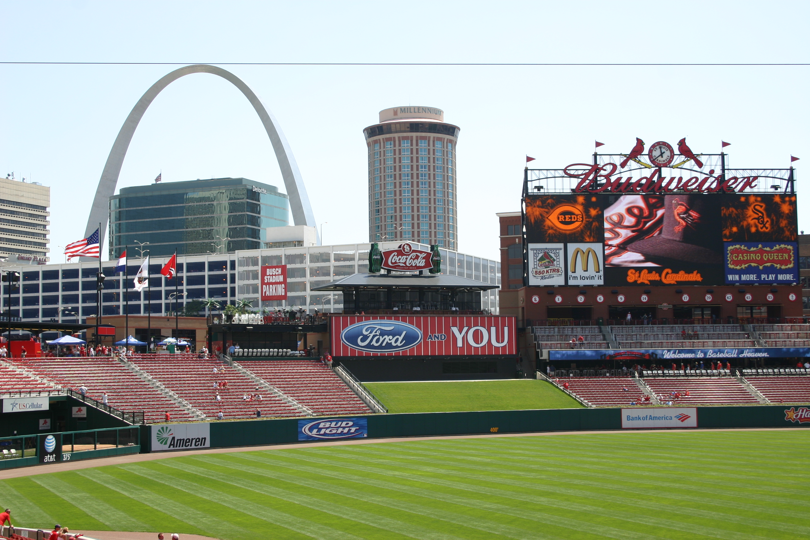 Busch Stadium,midwest baseball tours,family vacation packages,baseball trips