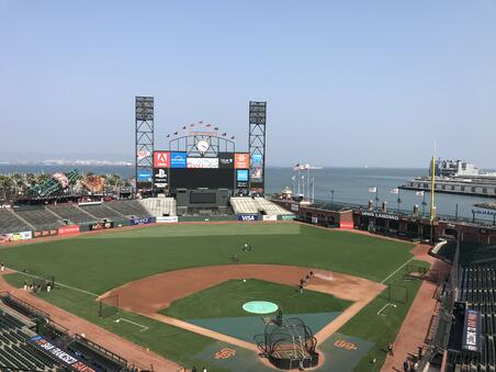 AT&T Park Aug 2018